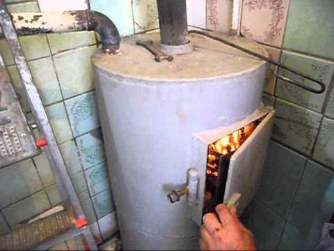 Котел 12-ти часового  длительного горения на дровах. Разовая загрузка горит 12 часов! 1-я часть.