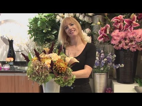How To Make Flower Arrangements how to make flower arrangement in a vase - youtube