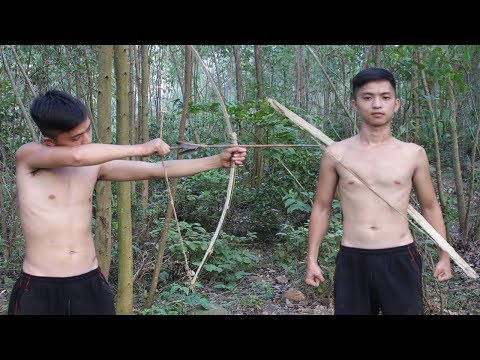 Primitive Technology: Make a Bow and Arrow