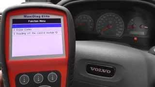 Volvo S40 Airbag Light Diagnose & Reset Autel MD802 To The Rescue