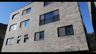 1571 청고벽돌 st 점토벽돌 영롱쌓기 마감, 회색 …