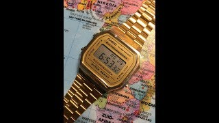 Casio A168WG-9EF | Stylish and Iconic Digital Watch | Unboxing