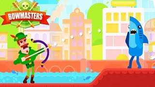 Bowmasters - Gameplay Walkthrough Part 3 - Fun Play Cute Characters Epic Finish ( All Win)
