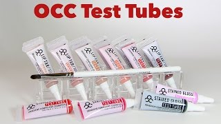 OCC Test Tubes Live Swatches & Review