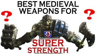 Best melee and medieval WEAPONS for super strength: FANTASY RE…