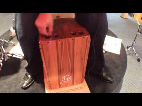2014 Winter NAMM Latin Percussion Kevin Ricard Signature Cajon