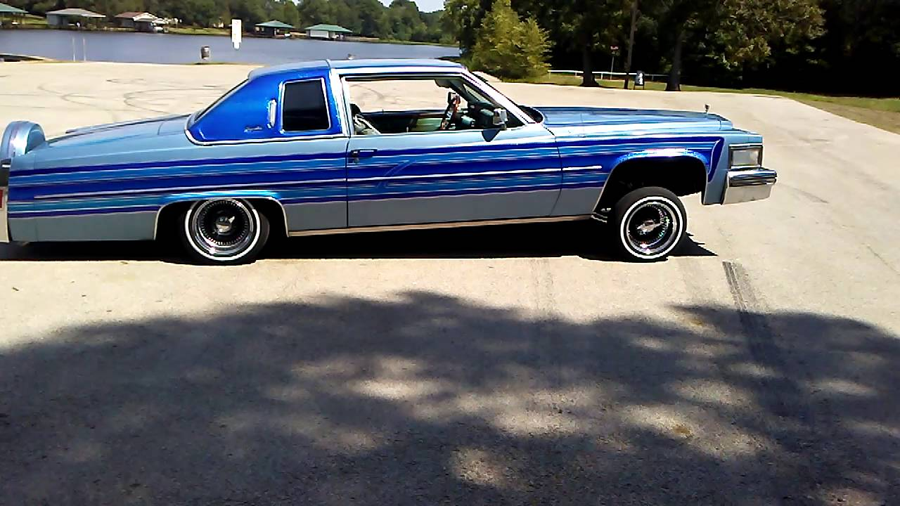 78' Cadillac Coupe Deville. - YouTube