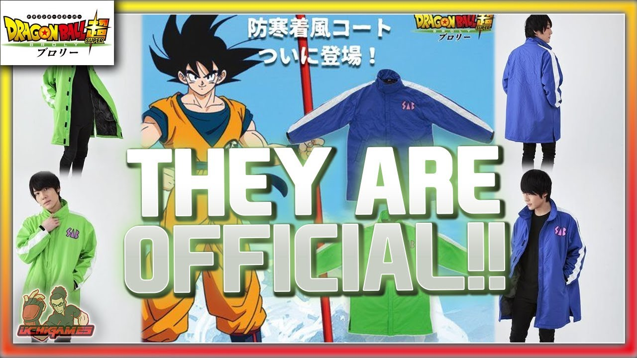 8732618370e9 GOKU & VEGETA SAB OFFICIAL JACKETS BY BANDAI FASHION JP!! | Dragon ...