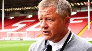 Chris Wilder on Mark Duffy