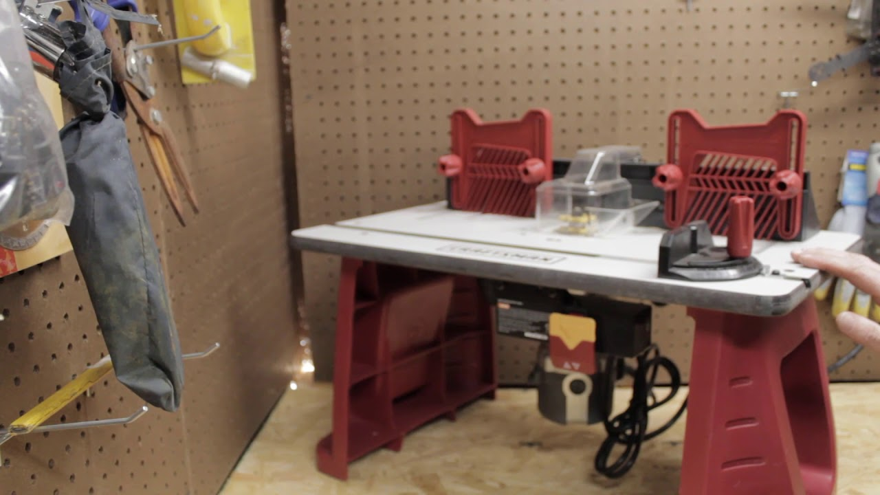 Craftsman Router And Table Combo