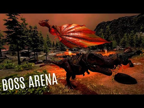 RAGNAROK's BOSS Arena w/ Titanboa Tame - Official PVP (E16) - ARK Survial