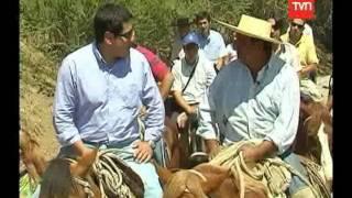 Turismo Rural Machalí. TVN - 24 Horas. Chile conectado.