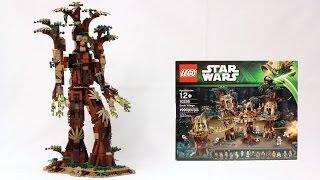 UCS LEGO Ent - 10236 Ewok Village Alternate Model
