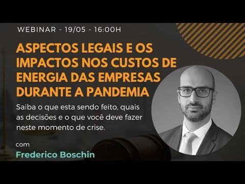 Aspectos legais e os impactos nos custos de energia durante a Pandemia [webinar]