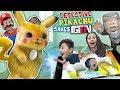 Detective Pikachu saves FGTEEV (Ape Chase Gameplay / Skit)