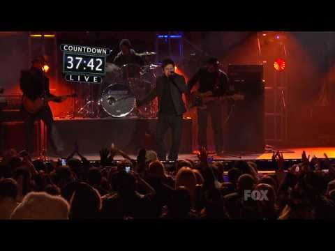 David Archuleta New Year's Eve Live -  The Other Side Of Down