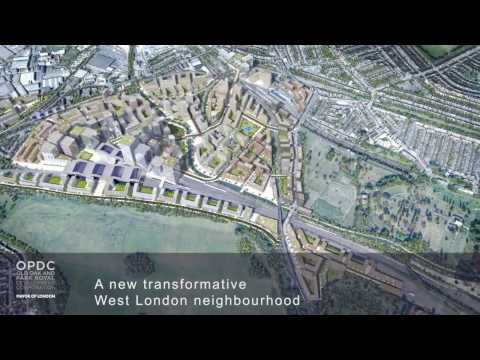 OPDC Indicative Masterplan CGI FIlm