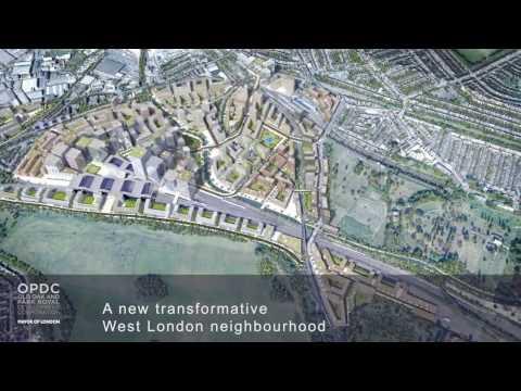 OPDC Indicative Masterplan CGI FIlm