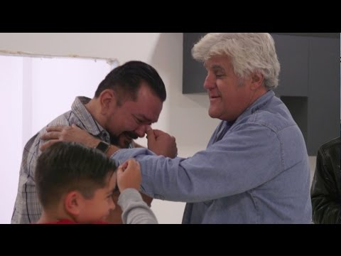 Jay Leno Surprises a Deserving Veteran