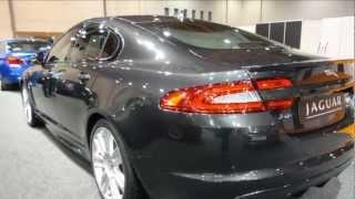 Jaguar XFR - International Automobile Show 2012 Full HD!!!
