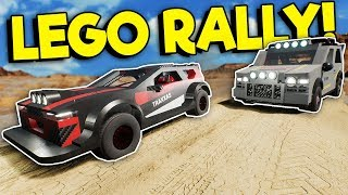 EPIC LEGO RALLY RACE CONTEST! - Brick Rigs Multiplayer Gameplay - Lego City Chase