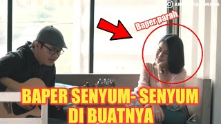 SENYUM SENYUM SENDIRI CEWE IMUT DI BIKIN BAPER ABISS SAMA ASEP MP3