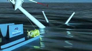 Nautica Windpower's Advanced Floating Turbine