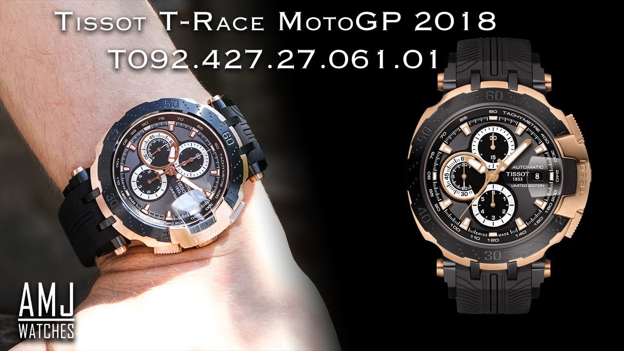 d9f55b1a42e Tissot T-Race MotoGP 2018 Limited Edition (T092.427.27.061.01) Showcase.  AMJ Watches