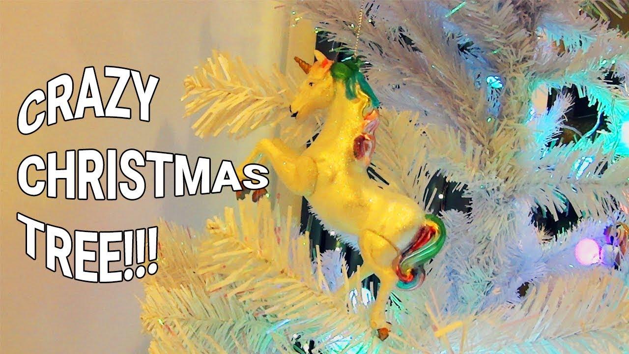 Crazy Christmas Tree Decorations 2018 Youtube