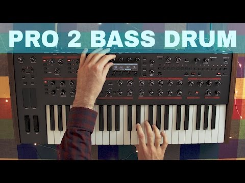 DSI PRO 2 BASS DRUM SOUND DESIGN TUTORIAL ~ Synthesize This! Ep.01