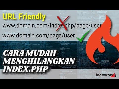 """CodeIgniter - Cara SINGKAT Menghilangkan """"index.php"""""""
