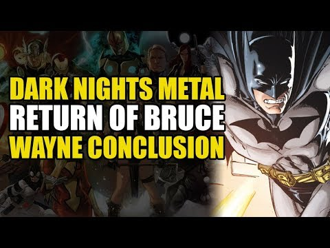 Dark Nights Metal: Batman vs The Justice League (The Return of Bruce Wayne Conclusion)