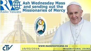 Ash Wednesday Mass - 2016.02.10