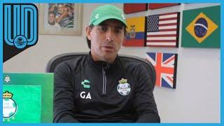El director técnico de Santos Laguna habló en conferencia de prensa previo al partido de su equipo en la Jornada 11 del Guardianes 2020