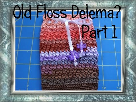 How to use DMC Floss DIY Handbag Part 1 of 2