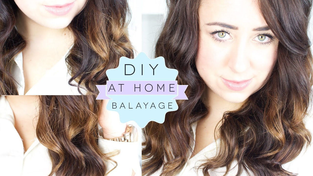 How To Diy Balayage At Home Ombre Dip Dye Technique