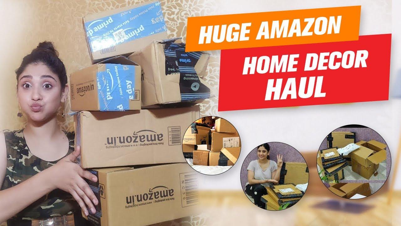 HUGE AMAZON HOME DECORE HAUL | Amazon Freedom Sale | Amazon Online Shopping Haul | Shy Styles