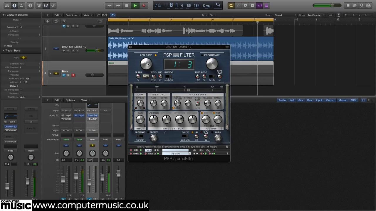 PSP Audioware stompFilter | MusicRadar