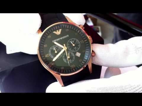 9275a52b9ef Relógio Emporio Armani Ar5905 Original - YouTube