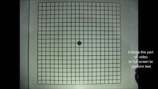 Amsler Grid Test- Home Vision Test