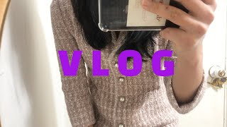VLOG | 일상 브이로그 | 결혼식 하객 패션(하객룩…