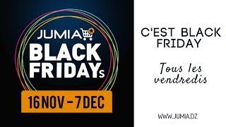  ALGÉRIE  JUMIA BLACK FRIDAYS [Du 16/11 Au 07/12]