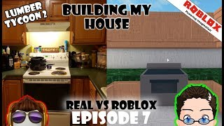 Roblox - Lumber Tycoon 2 - Real VS Roblox