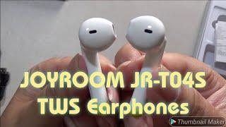 JOYROOM JR-T04S TWS Wireless Earphones Review