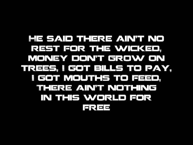 Cage the Elephant - Ain\'t No Rest for the Wicked [Lyrics] Chords ...
