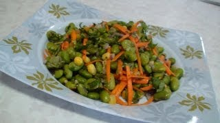 Edamame Soybean Salad Video Recipe- Side Dish Recipes