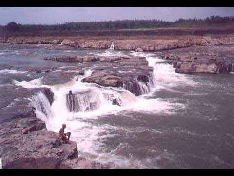 Sahastradhara on Narmada River at Mandla (M.P)