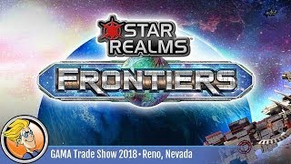 Star Realms: Frontiers — game preview at GAMA 2018