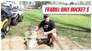 This Frabill Bait Bucket / Aerator Pays for Itself