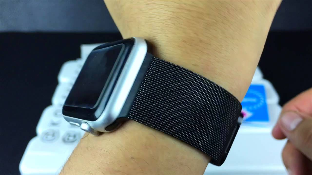 how to install magnetic apple watch band